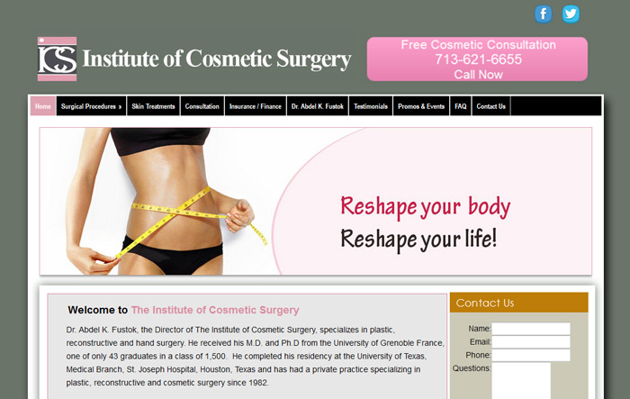 Institute of Cosmetic Surgery